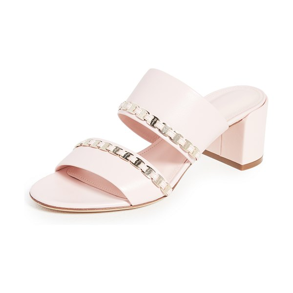 Salvatore Ferragamo trabia sandals in pink