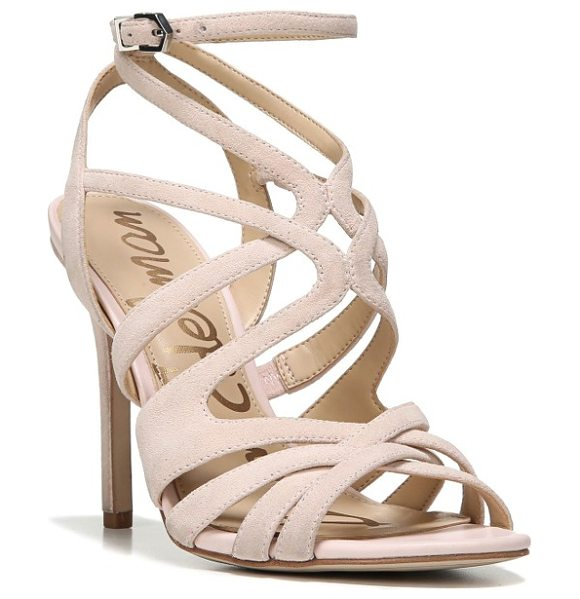 Sam Edelman aviana sandal in primrose suede - Swirling, graceful cage straps interlace on a stunning...
