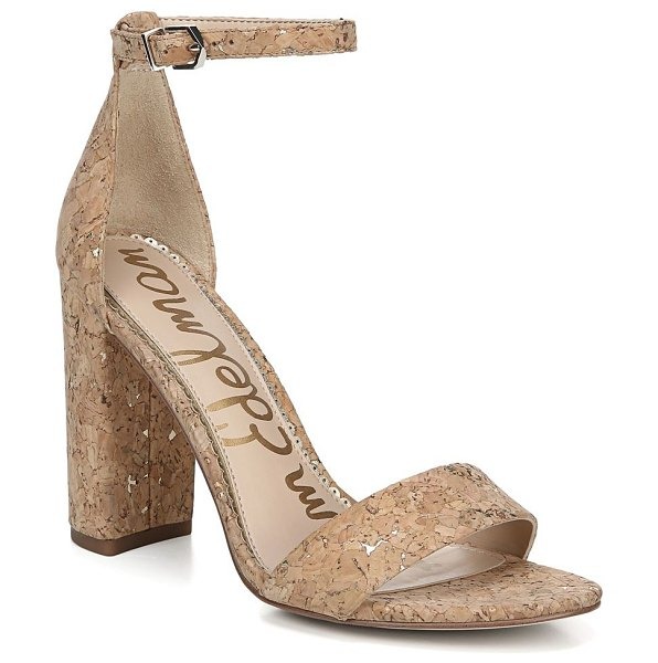 Sam Edelman botanical garden yaro ankle-strap cork sandals in natural