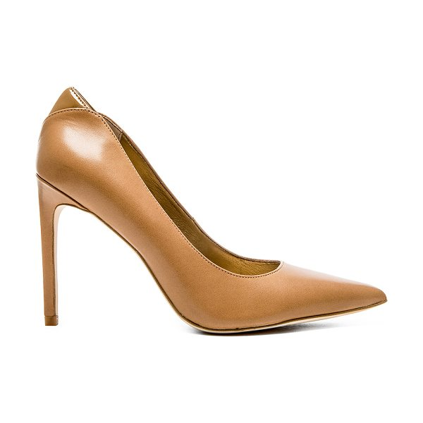 Sam Edelman Dea heel in tan - Leather upper with man made sole. Heel measures approx...