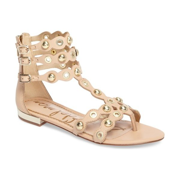 Sam Edelman desi sandal in natural leather