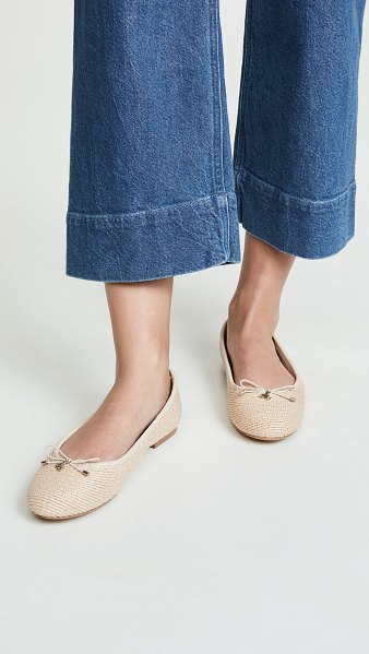 Sam Edelman falcon flats in natural