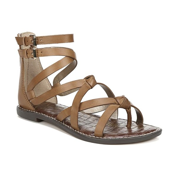 Sam Edelman gaton gladiator sandal in brown