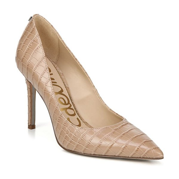 Sam Edelman hazel pointy toe pump in brown