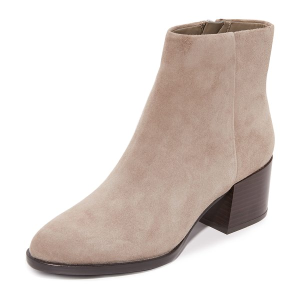 Sam Edelman joey booties in putty - Versatile Sam Edelman ankle booties with a substantial,...