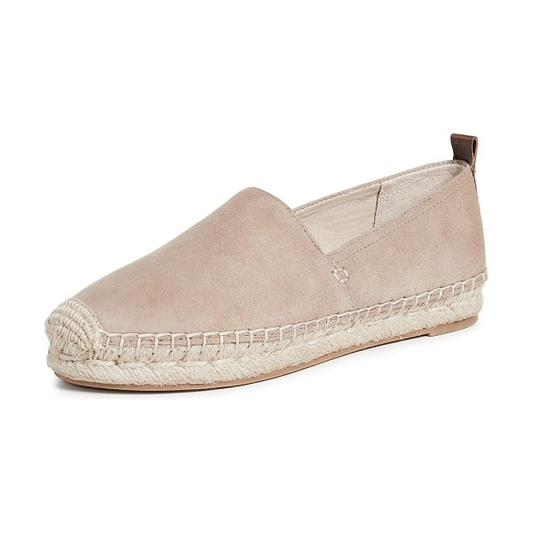 Sam Edelman khloe espadrilles in warm taupe - Fabric: Suede Leather: Kidskin Braided jute Padded...