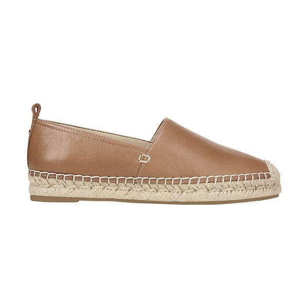 Sam Edelman khloe leather slip-ons in latte