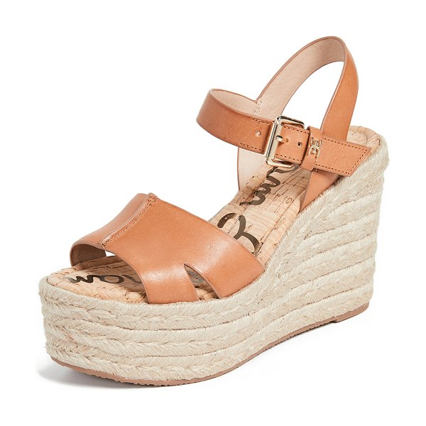 Sam Edelman maura espadrilles in natural buff