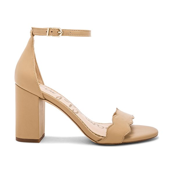 Sam Edelman odila heel in classic nude leather