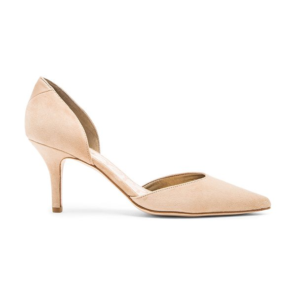 "Sam Edelman Opal Heel in beige - Suede upper with man made sole. Heel measures approx 3""""..."