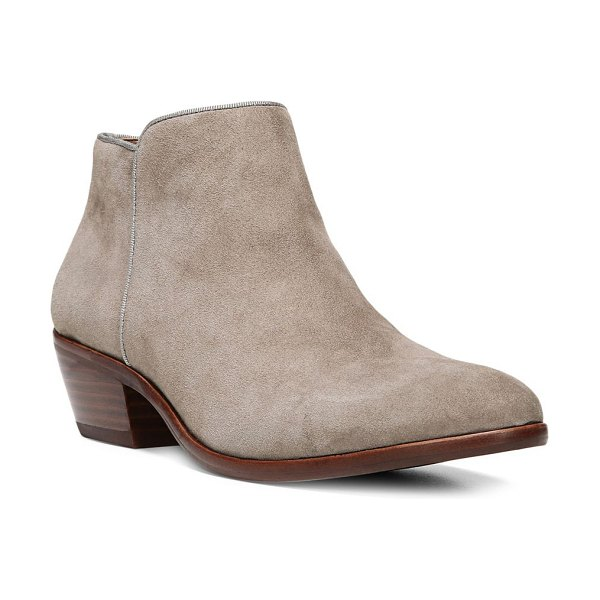Sam Edelman petty suede ankle boots in putty