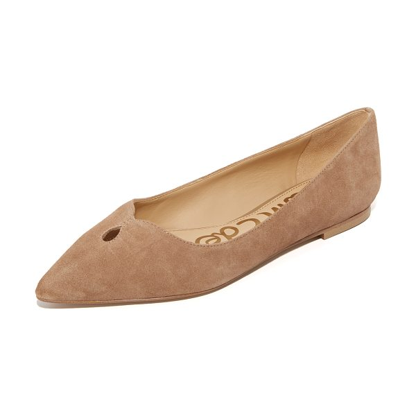 Sam Edelman ruby flats in oatmeal