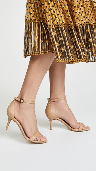 Sam Edelman patti sandals in classic nude - Versatile Sam Edelman sandals, styled with slender...