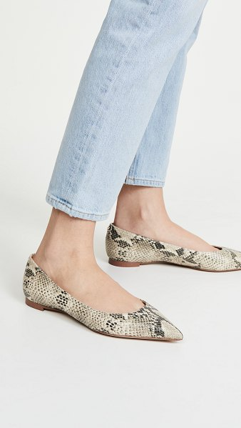 Sam Edelman stacey flats in nude/black