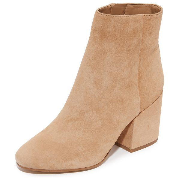 SAM EDELMAN taye booties - Versatile Sam Edelman booties crafted in luxe suede....