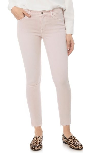 SAM EDELMAN the kitten jeans - All about the ankles, these overdyed jeans offer both a...