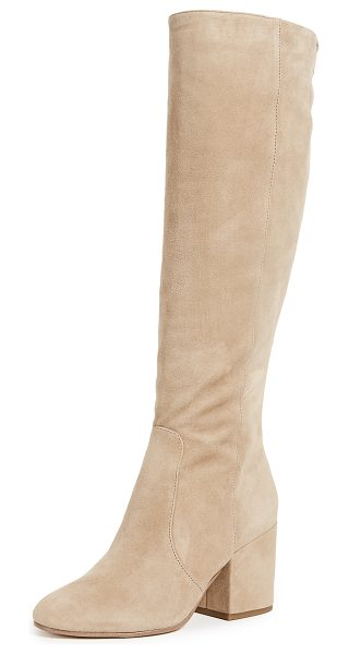 Sam Edelman thora tall boots in oatmeal - Sophisticated Sam Edelman knee-high boots crafted in...