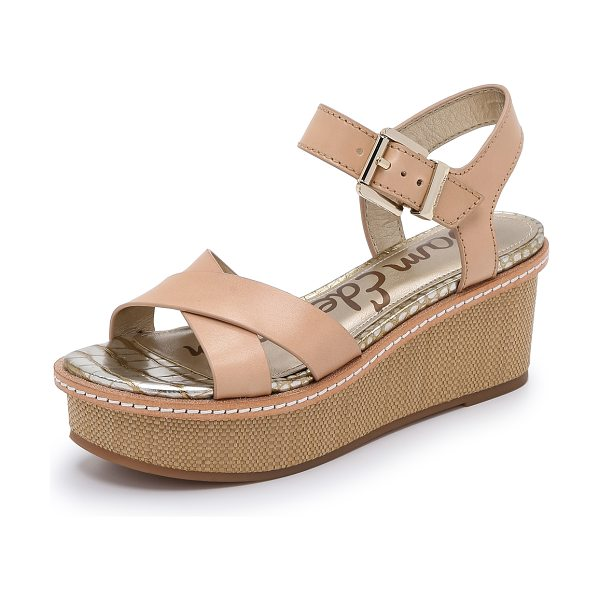 Sam Edelman Tina sandals in natural naked