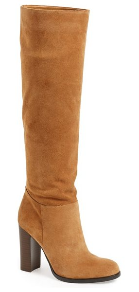SAM EDELMAN 'victoria' slouch boot - A tall, stacked heel brings a fresh, contemporary look...