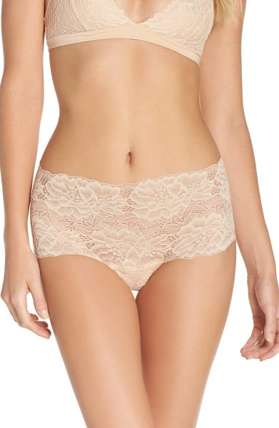 Samantha Chang my daily boyshort thong in nude