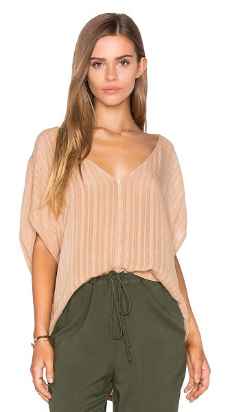 Sam&Lavi Lynn Top in beige - Cotton blend. SAND-WS292. L1176 F116. After witnessing...