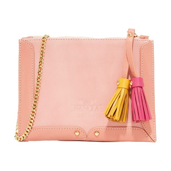 Sancia lana coin purse in canyon rose - A slim SANCIA coin purse crafted on tonal leather and...