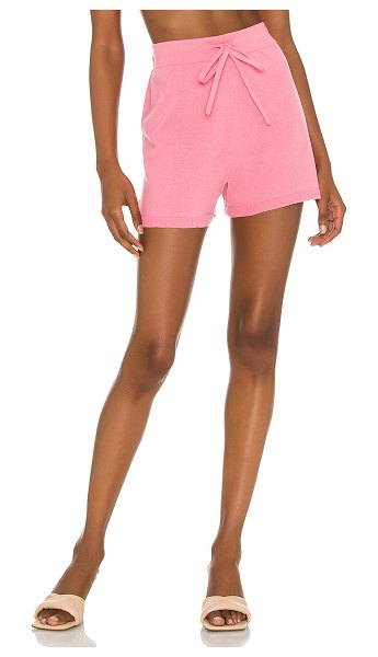 Sanctuary essential pull on short in sugar pink