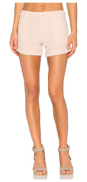 "Sanctuary Habitat Short in blush - ""98% cotton 2% spandex. Side slant pockets. Back snap..."