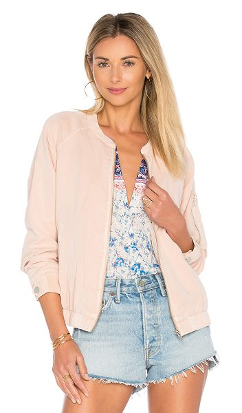 Sanctuary Pilot Bomber in cameo pink