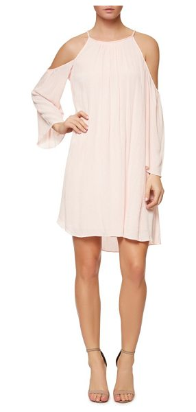 Sanctuary spring sofie cold shoulder dress in barely pink - Shoulder-baring style amps up the flirt factor and...