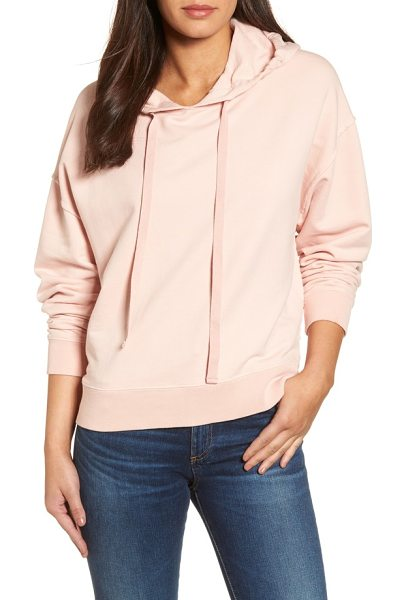 SANCTUARY venice hooded sweatshirt - A contrast drawstring threaded through bold eyelets...