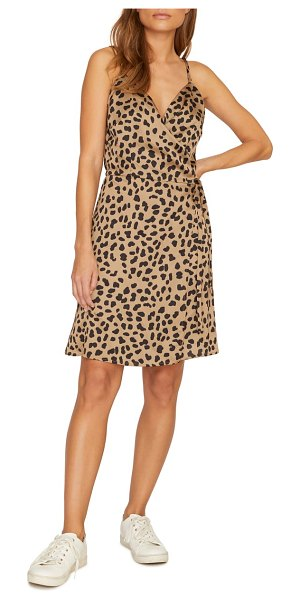 Sanctuary wrap it up sundress in brown - Leopard spots make a fierce return this season-this...