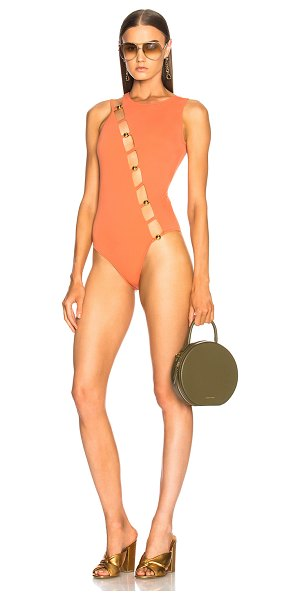 Sand & Blue Camila Swimsuit in orange - Sand & Blue set out to create the eternal feeling of a...