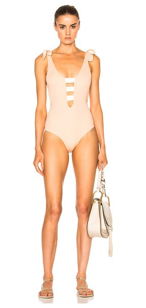 Sand & Blue Jeyl Swimsuit in nude - Self: 80% polyamide 20% elastanLining: 93% polyamide 7%...