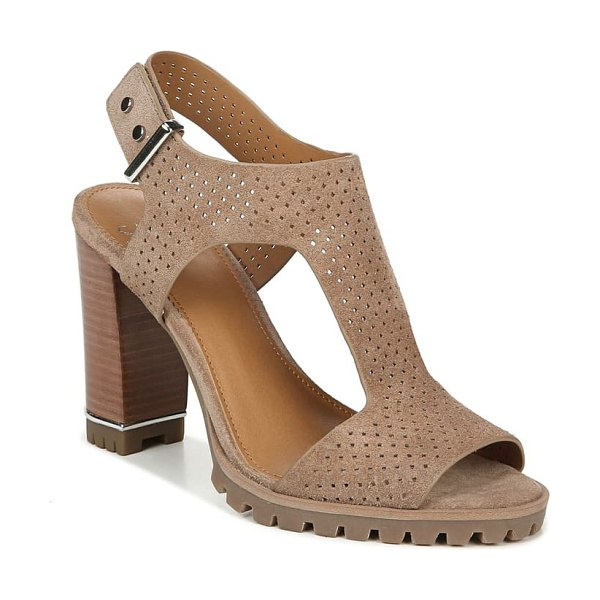 SARTO By Franco Sarto allister perforated sandal in beige