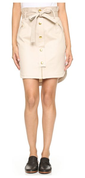 SASS & BIDE Sass & Bide Eternal Fame Skirt - A contoured sass & bide skirt with decorative ties at...