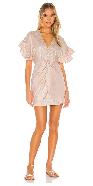 Saylor brookey dress in blush