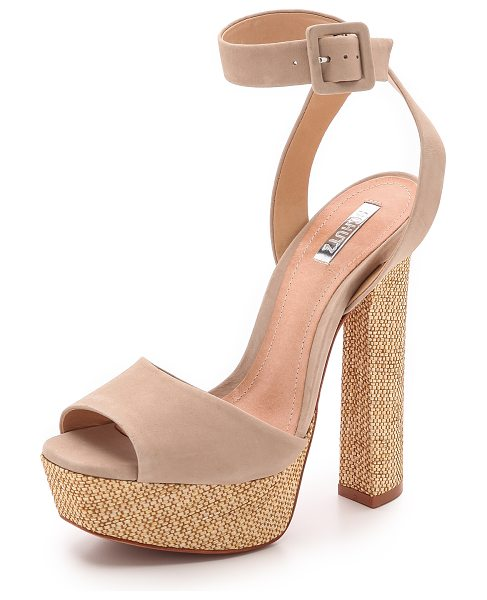 Schutz Amatista sandals in oyster