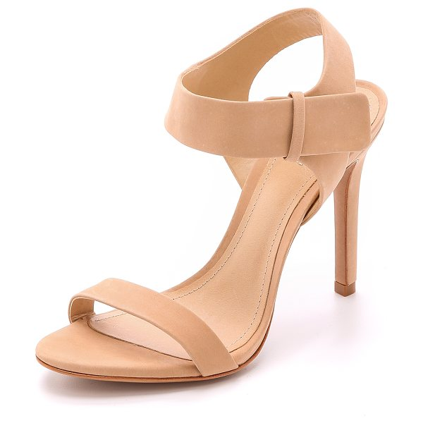 Schutz Dubia sandals in pale peach