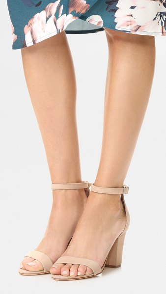 Schutz jenny lee sandals in amber light - Refined Schutz sandals cut from luxe nubuck. Slim ankle...