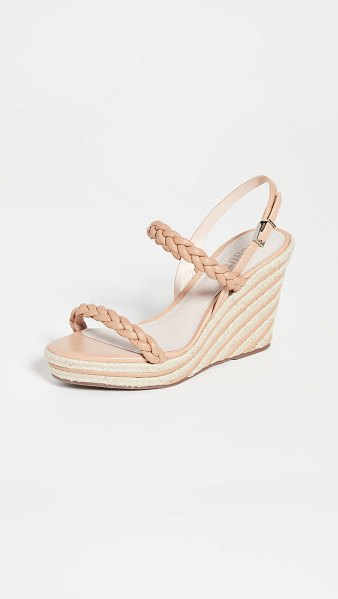Schutz neubria sandals in honey beige