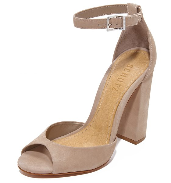Schutz odesa sandals in neutral