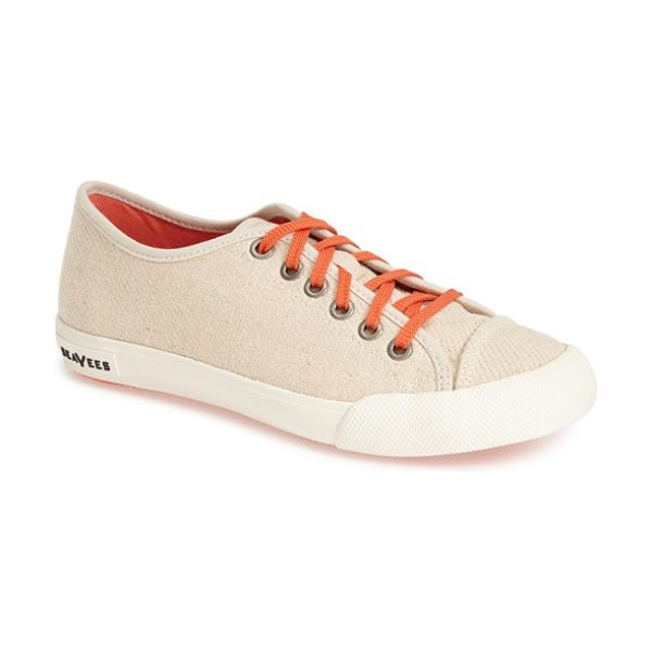 SeaVees 08/61 army issue hemp sneaker in natural - Inspired by the styles of California in the 1960s, each...