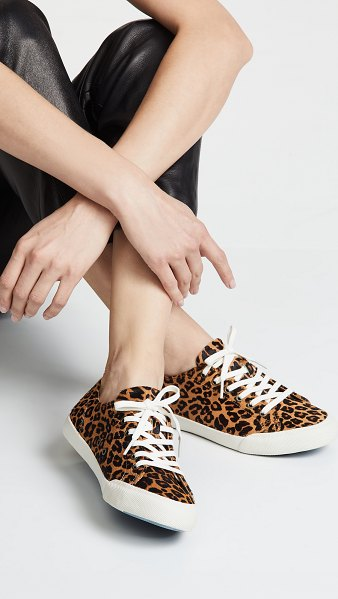SeaVees monterey sneakers in leopard - Cannot be shipped outside the USA Fur: Dyed haircalf...