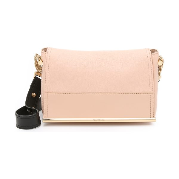 See By Chloe Amy shoulder bag in nude - A slouchy See by Chloé shoulder bag in pebbled leather....