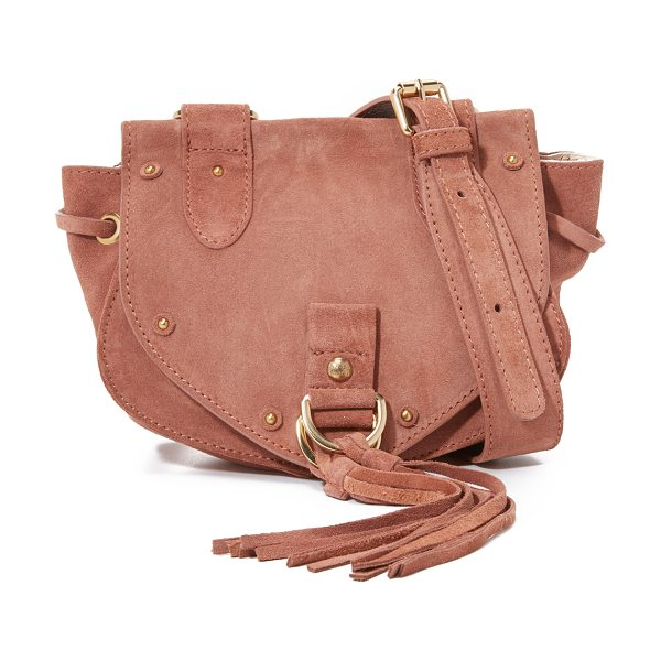 See By Chloe Collins mini saddle bag in terracotta