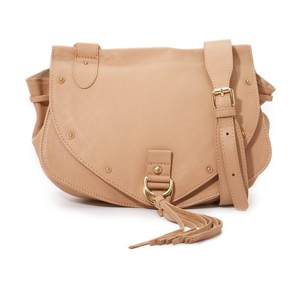 SEE BY CHLOE Collins saddle bag - A slouchy See by Chloé saddle bag in rich leather. Studs...