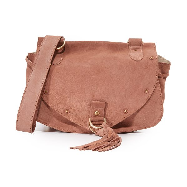 See By Chloe collins saddle bag in misty pink - A slouchy See by Chloé saddle bag made from soft nubuck....