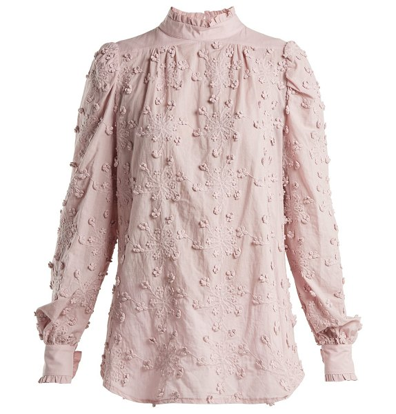 See By Chloe Embroidered Cotton Blouse in light pink - See By Chloé - See by Chloé's lightweight pink cotton...