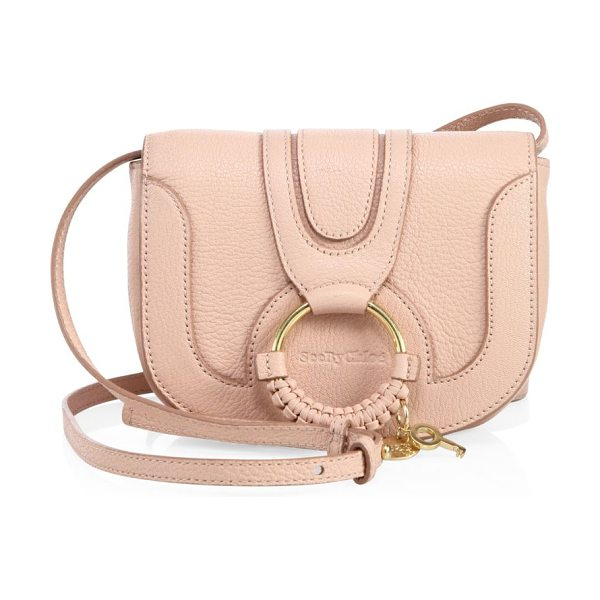 See By Chloe hana leather mini crossbody bag in powder pink - Comfortably lined leather mini crossbody bag. Adjustable...